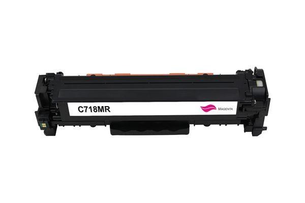 Rebuilt zu Canon 718M / 2660B002 Toner Magenta