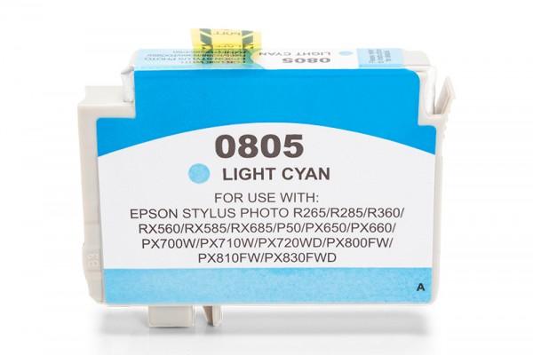 Kompatibel zu Epson T0805 / C13T08054010 Tinte Light Cyan