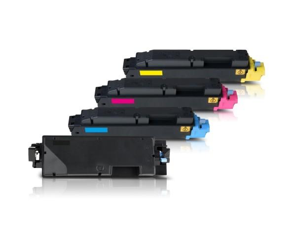 Kompatibel zu Kyocera TK-5280 Toner Multipack CMYK (4er Set)