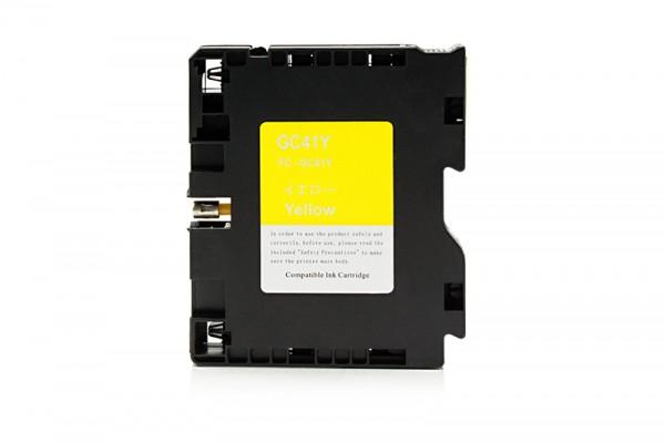 Kompatibel zu Ricoh 405764 / GC-41Y Gelkartusche Yellow