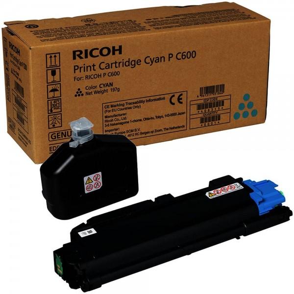 Ricoh P C600 / 408315 Toner Cyan