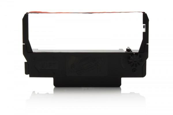 Kompatibel zu Epson C43S015376 / ERC38BR Farbband Black / Red