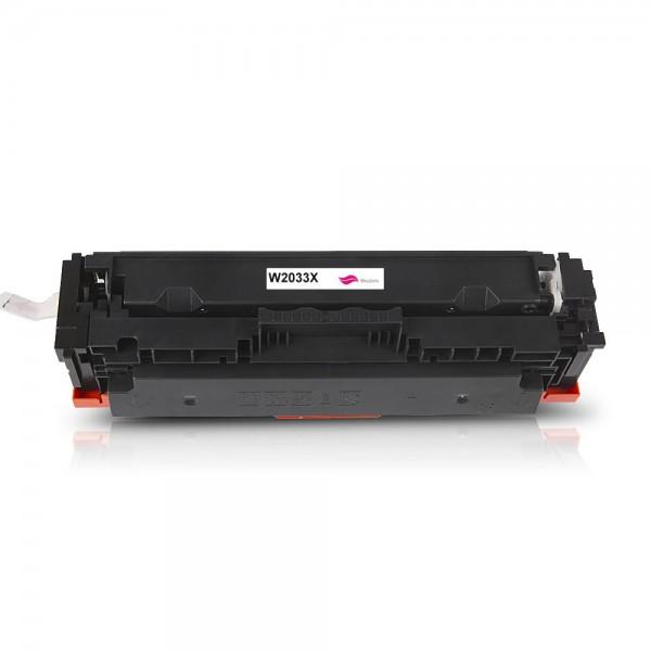 Rebuilt zu HP W2033X / 415X Toner Magenta (mit Chip)
