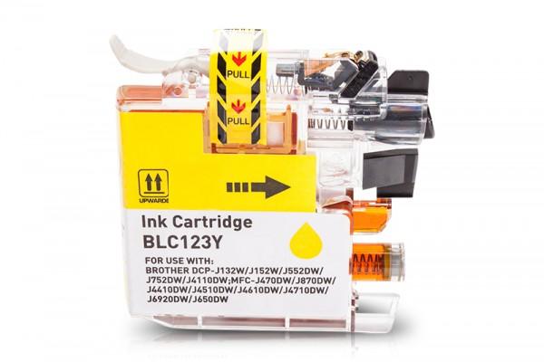 Kompatibel zu Brother LC-121Y XL Tinte Yellow