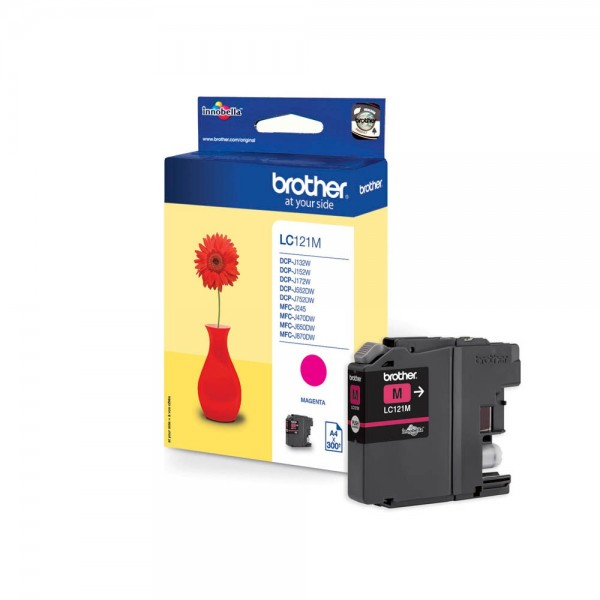Brother LC-121M Tinte Magenta