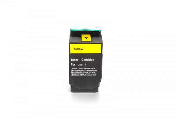 Kompatibel zu Lexmark 0C540H1YG Toner Yellow