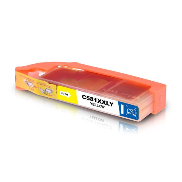Kompatibel zu Canon CLI-581Y / 1997C001 Tinte Yellow XXL