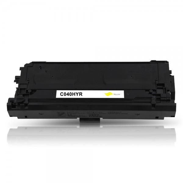 Kompatibel zu Canon 040H / 0455C001 Toner Yellow
