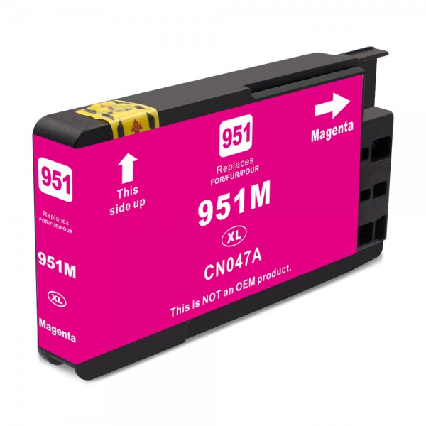 Kompatibel zu HP 951 XL / CN047AE Tinte Magenta (BULK)