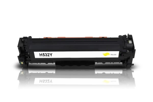 Kompatibel zu HP CC532A / 304A Toner Yellow