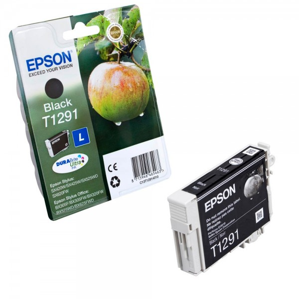 Epson T1291L / C13T12914012 Tinte Black