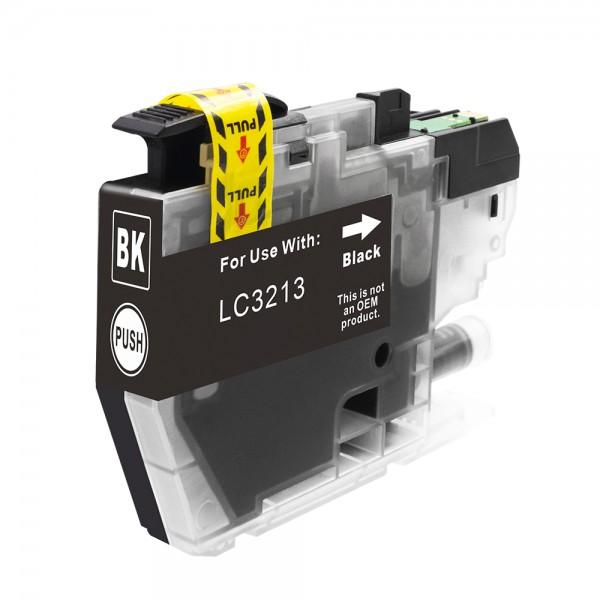 Kompatibel zu Brother LC-3213 BK Tinte Black
