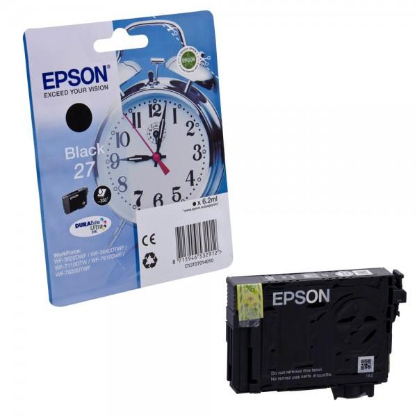 Epson 27 / C13T27014012 Tinte Black