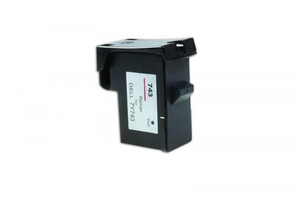 Kompatibel zu Dell 7Y743 / 592-10043 Tinte Black