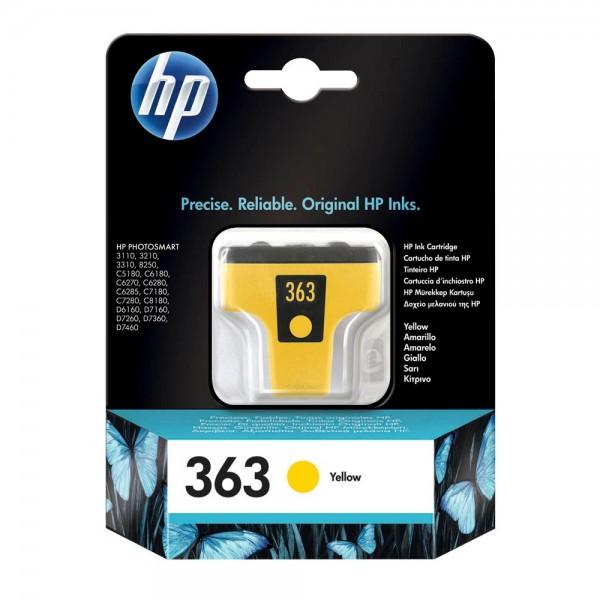 HP 363 / C8773EE Tinte Yellow