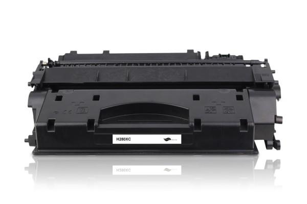 Kompatibel zu HP CF280X / 80X Toner Black