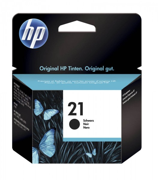 HP 21 / C9351AE Tinte Black