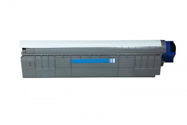 Kompatibel zu OKI 44059107 / C810 Toner Cyan