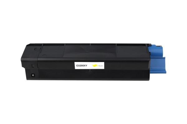 Kompatibel zu OKI 42804537 / C3200 Toner Yellow