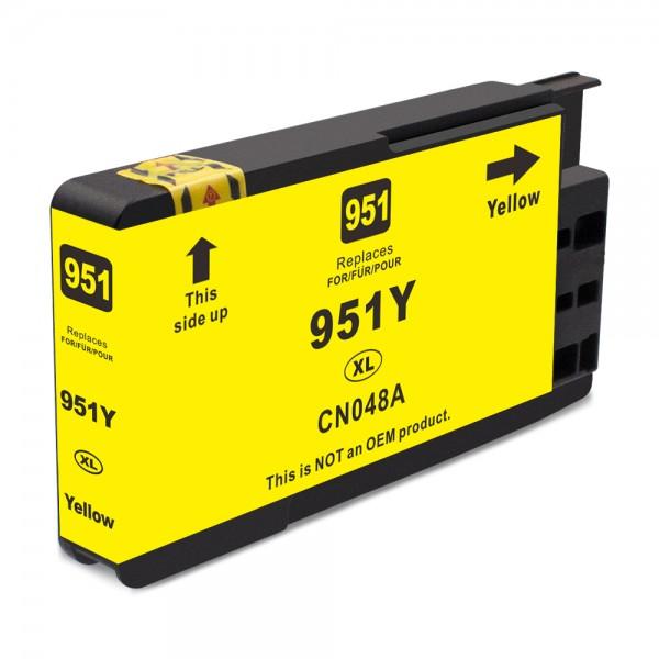 Kompatibel zu HP 951 XL / CN048AE Tinte Yellow (BULK)
