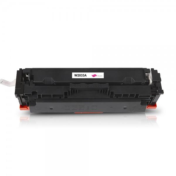 Kompatibel zu HP W2033A / 415A Toner Magenta (Ohne Chip)