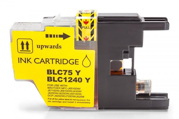 Kompatibel zu Brother LC-1240Y Tinte Yellow