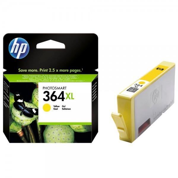HP 364 XL / CB325EE Tinte Yellow