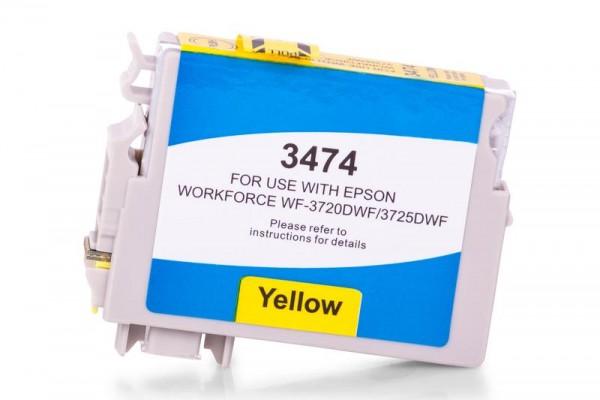 Kompatibel zu Epson 34 XL / C13T34744010 Tinte Yellow (Bulk)