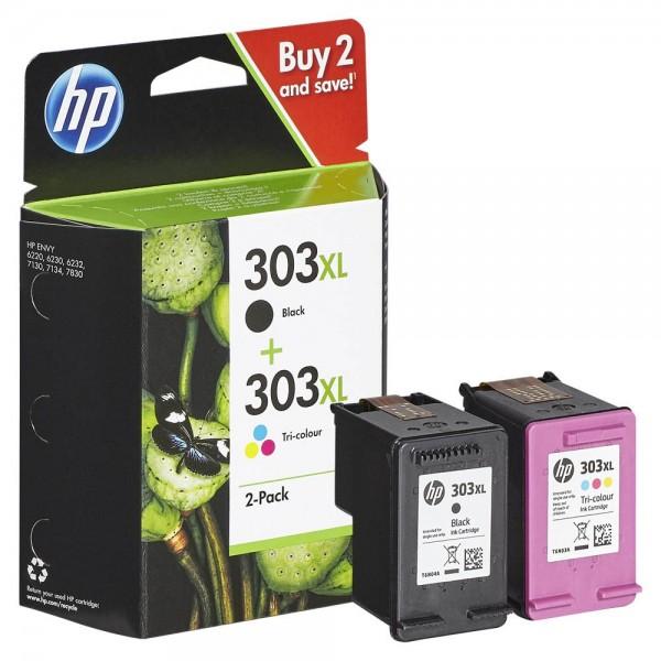 HP 303 XL / 3YN10AE Tinten Multipack (1x Black / 1x Color)