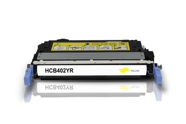 Rebuilt zu HP CB402A / 642A Toner Yellow