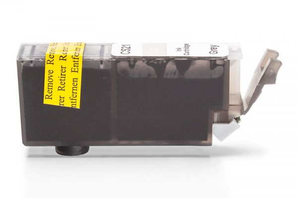 Kompatibel zu Canon CLI-521GY / 2937B001 Tinte Grau