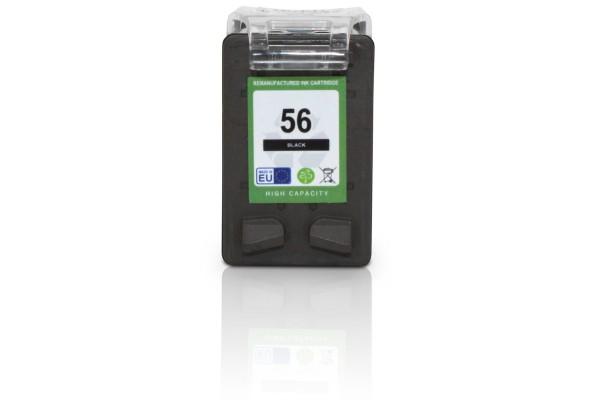 Kompatibel zu HP 56 / C6656AE Tinte Black (EU)