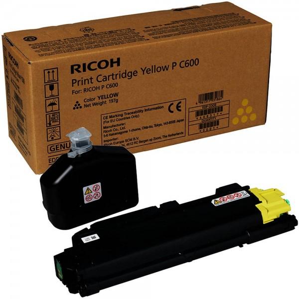 Ricoh P C600 / 408317 Toner Yellow