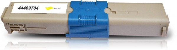 Kompatibel zu OKI C310 / 44469704 Toner Yellow
