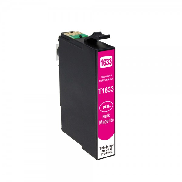 Kompatibel zu Epson 16 XL / C13T16334010 Tinte Magenta (BULK)