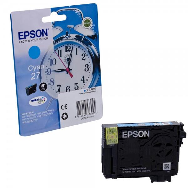 Epson 27 / C13T27024012 Tinte Cyan