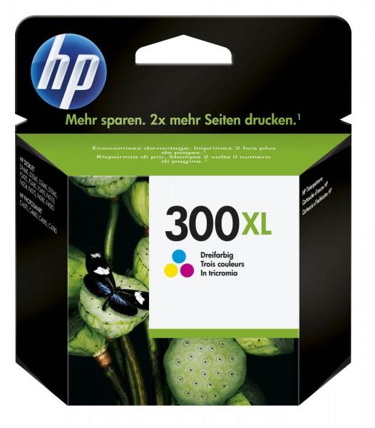 HP 300 XL / CC644EE Tinte Color