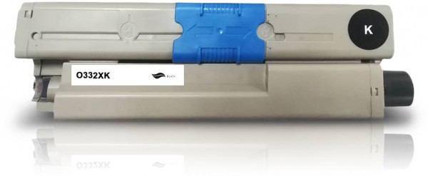 Kompatibel zu OKI 46508712 / C332 Toner Black