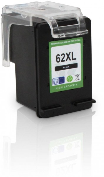 Kompatibel zu HP 62 XL / C2P05AE Tinte Black (EU)