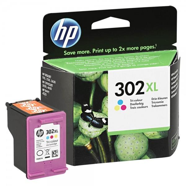 HP 302 XL / F6U67AE Tinte Color