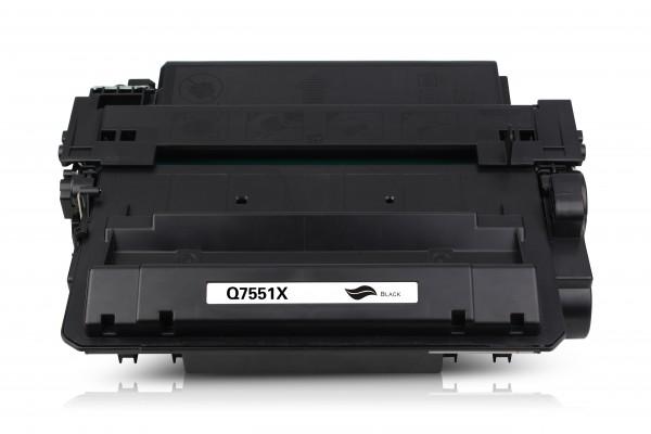 Kompatibel zu HP Q7551X / 51X Toner Black