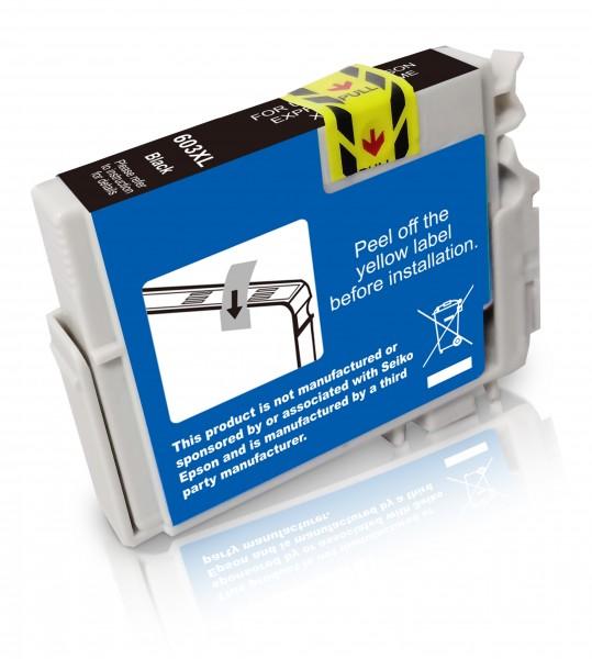 Kompatibel zu Epson 603 XL / C13T03A14010 Tinte Black (BULK)
