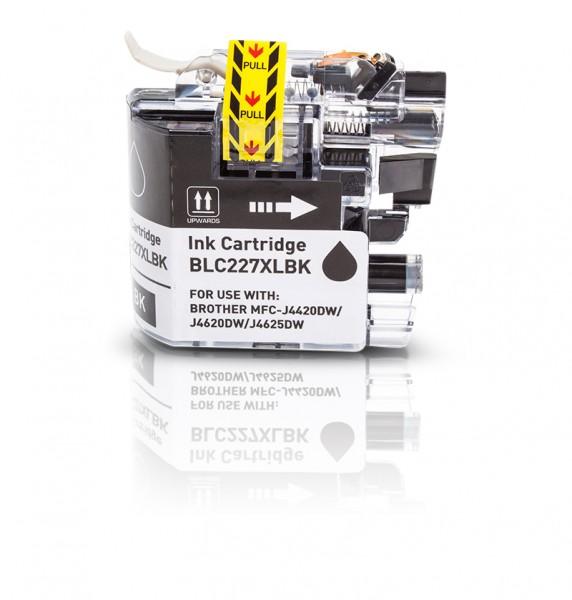 Kompatibel zu Brother LC-227 XL Tinte Black
