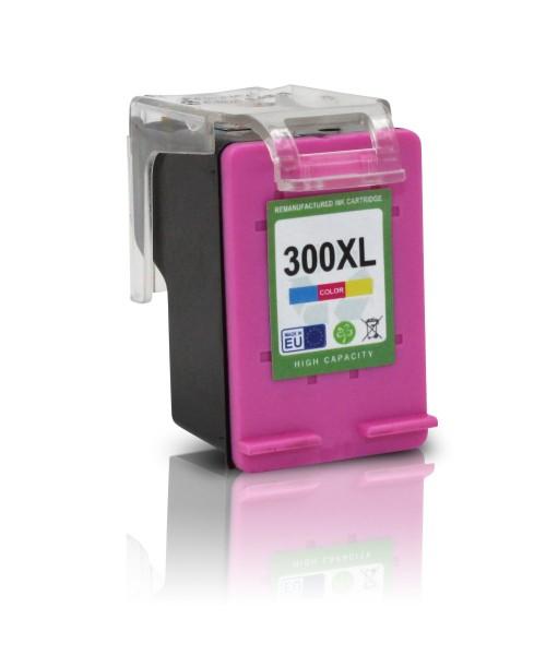 Kompatibel zu HP 300 XL / CC644EE Tinte Color mit Füllstandsanzeige (EU)