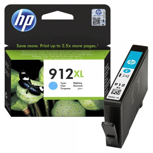 HP 912 XL / 3YL81AE Tinte Cyan