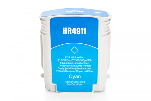 Kompatibel zu HP 82 / C4911A Tinte Cyan