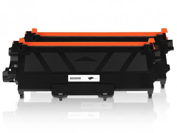 Kompatibel zu Brother TN-2220 Toner Black XXL (2er Pack)