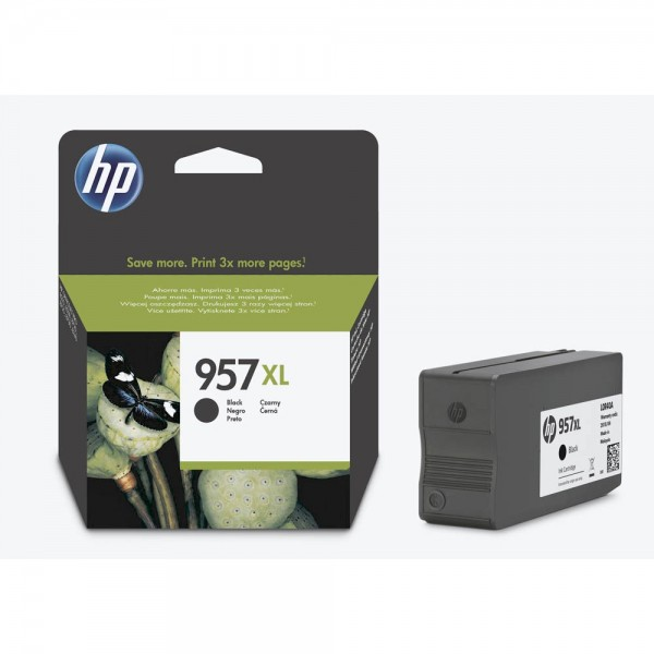 HP 957 XL / L0R40AE Tinte Black