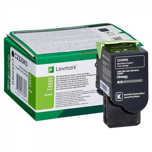 Lexmark C2320K0 Toner Black