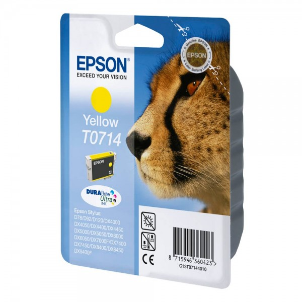 Epson T0714 / C13T07144012 Tinte Yellow